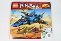 LEGO NINJAGO LEGACY 70668 INSTRUCTION MANUAL ONLY