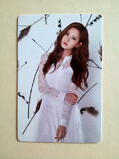 SNSD Girls' Generation 2016 GREETINGS CALENDAR [ OFFICIAL ] PhotoCard - Seohyun