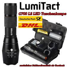 10000lm echte Lumitact G700 Polizei Taschenlampe L2 LED Zoom Militär Fackel Neu