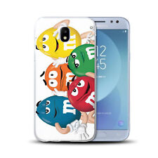 Coque Samsung Galaxy J 3 ( Modele 2017 ) + Verre Trempé 9 H - Motif MM'S