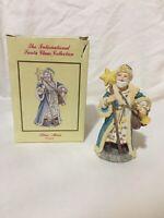 International Santa Claus Collection STAR MAN POLAND 1992 Figure w Box Christmas
