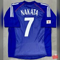 Adidas Japan 2002-04 Player Issue Home Jersey - Nakata 7. Size L, Exc Cond.