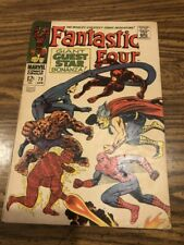 FANTASTIC FOUR  # 73   NOT CGC RATED  VF  8.0   1ST SERIES SILVER  AGE 1968