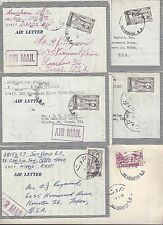 LEBANON 1958 COLLECTION OF 9 UNEF UNITED NATIONAL EMERGENCY FORCES IN LEBANON