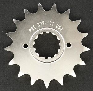 PBI - 377-17 -  Front Countershaft Sprocket, 17T - Made In USA