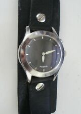 VINTAGE BIG TIC FOSSIL WATCH WATER RESISTANT NEEDS BATTERY NR
