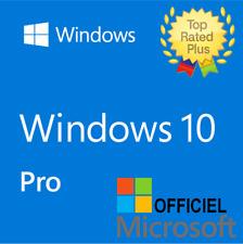 Microsoft Windows 10 Pro Professional 32/64bit Genuine License Key Instant
