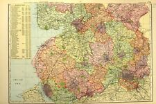 LANCS.Southport,Bog Hole,Angry Brow,Victoria Park,Pleasureland 1935 old map
