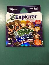 New Leap School Reading Leap Frog Explorer Learning Game Age 4/7 New