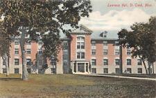 Lawrence Hall, St. Cloud, Minnesota Hand-Colored Vintage Postcard 1910
