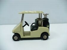 Limited Edition Fossil Golf Cart Desk Clock