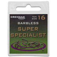 Drennan Super Specialist Barbless Eyed Size 4 - HESU004