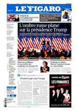 Le Figaro 12.1.2017 N°22527*TRUMP/POUTINE*William SAURIN l'enquête*M.HOUELLEBECQ