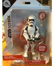 """Star Wars Disney Store  First Order Stormtrooper Action Figure Toybox 5.25/"""" NEW"""