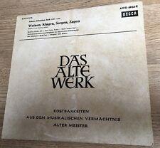 25cm Bach Weinen, Klagen, Sorgen, Sagen Kantate BWV 12 Karl Richter Decca NM