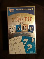 Truth or Dare Trivia travel card Game - university games 2002 - free shipping