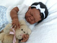 ~*Imani*~ African American/AA/Ethnic/Biracial Reborn baby boy by Adrie Stoete