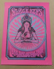 Black Keys Pittsburgh 2014 Variant Zeb Love Limited xx/15 Screen Print Poster