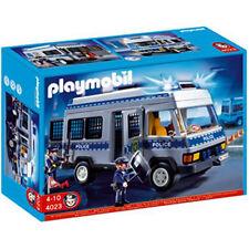 PLAYMOBIL Police Riot Van With Lights 4023