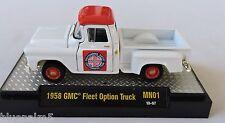 1/64 M2 Machines 1958 GMC Fleet Option Truck 1 of 500 Gold Chase Acrylic Case