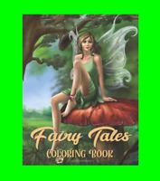 Fairy Tales Coloring Brain Training Meditation Anti-Stress Creative Gift Kids