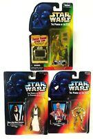 Star Wars Kenner POTF Figures C3PO, Obi Wan, Endor Sealed 1995 Sealed