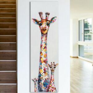 Curious Giraffes 30x12 Wall art canvas UK Seller Free Post Limited Stock