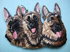 IRON-ON EMBROIDERED PATCH - GERMAN SHEPHERD #2 - DOG