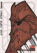 Star Wars Galaxy Series 5 Sketch Card by Michael Duron of CHEWBACCA