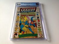 JUSTICE LEAGUE OF AMERICA 38 CGC 6.0 JUSTICE SOCIETY SEKOWSKY ANDERSON DC COMICS