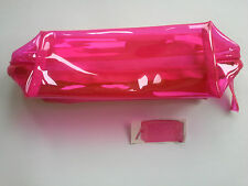 Avon BRAND NEW Pink Cosmetics Bag ~ OR ~ Use As Pencil Case ~~ IN SEALED BAG