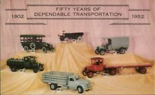 GMC Toy Truck Models 50th Anniversary 1950s Postcard