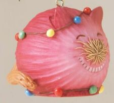 ENESCO HOME GROWN ORNAMENT  - RED ONION CAT