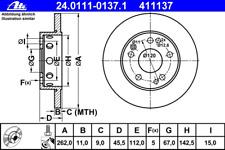 Bremsscheibe (2 Stück) - ATE 24.0111-0137.1
