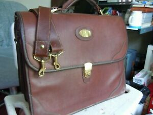 Vintage Orvis Leather Orvis/Gokey Briefcase Made in USA    11