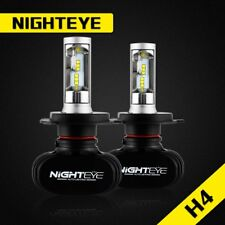 NIGHTEYE LED Headlight 50W 8000LM 6500K White Dual Hi/Lo Kit Bulbs - H4 HB2 9003