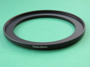 77mm-95mm Stepping Step Up Male-Female Lens Filter Ring Adapter 77mm-95mm