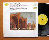 DG 415 846-1 Respighi Pines Fountains Of Rome Seiji Ozawa Boston Symphony NM/VG