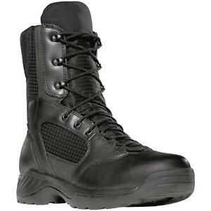 """NEW Danner Kinetic Black  Boots, 8"""", Leather/Nylon, Police Law, EMS, Corrections"""