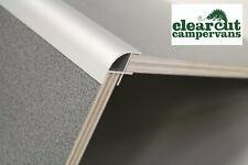 500mm Aluminium Corner Profile, Campervan Kitchen, Radius (20mm) For 15mm Board