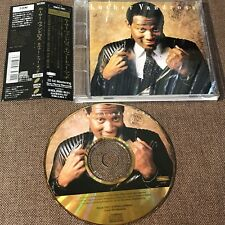 LUTHER VANDROSS Never Too Much JAPAN 24K GOLD CD ESCA7531 w/OBI+PS BOOKLET FreeS