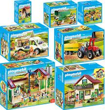 PLAYMOBIL® Country Bauernhof Bauernhaus Farm Trecker Traktor Tiere AUSWAHL
