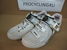Bontrager RXL Cycling Road Shoes White Gold Carbon Buckle Size 38 Women WSD