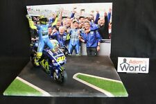 "QSP Diorama Collection ""Valentino Rossi wins 2017 Dutch TT Assen"" 1:12 type 2"
