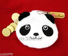 Porte-Monnaie panda coton porte monnaie panda mignon Porte-clés panda porte clés