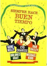 IT'S ALWAYS FAIR WEATHER (1955) **Dvd R2** Gene Kelly, Cyd Charisse