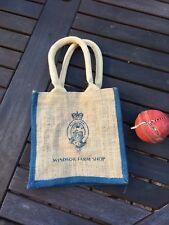Royal Windsor Farm Shop Sackcloth Bag / Hand Bag / Childrens Bag / Royal Family