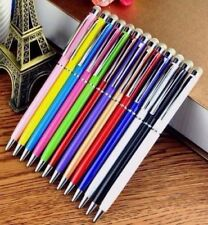 10 x PRO STYLUS WITH BALL POINT PEN MICRO-FIBRE TIP FOR IPHONE,IPAD,TABLET#25