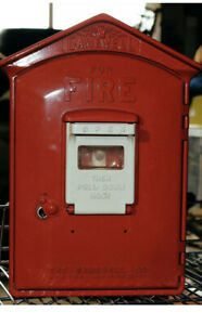 Brand New Gamewell Fire Box - Very old Stock - but NEW with key