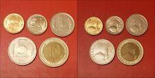 Russia 10; 50 kopeks; 1; 5; 10 Rubles 1991 Last Soviet Union Coins #RU_X1